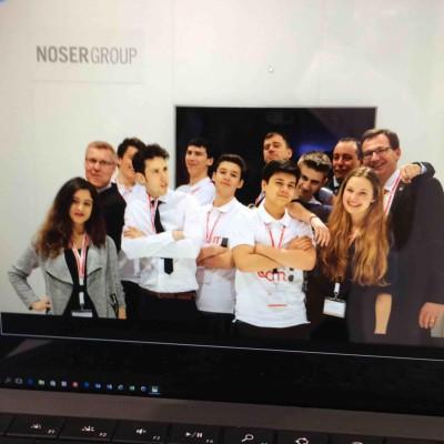 Das Noser Group Team an der CeBIT