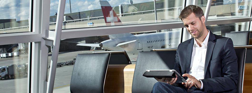 Flughafen Zürich ist ready for Take-off