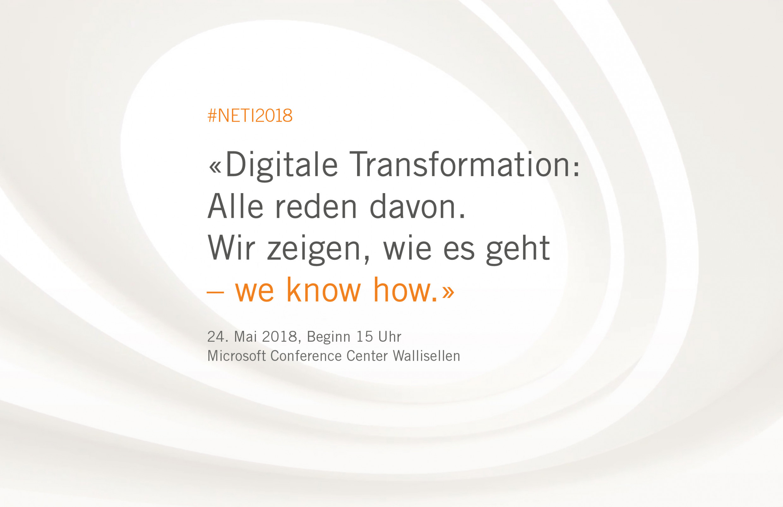 #NETI2018 Noser Engineering Technologie-Impulse in Zürich