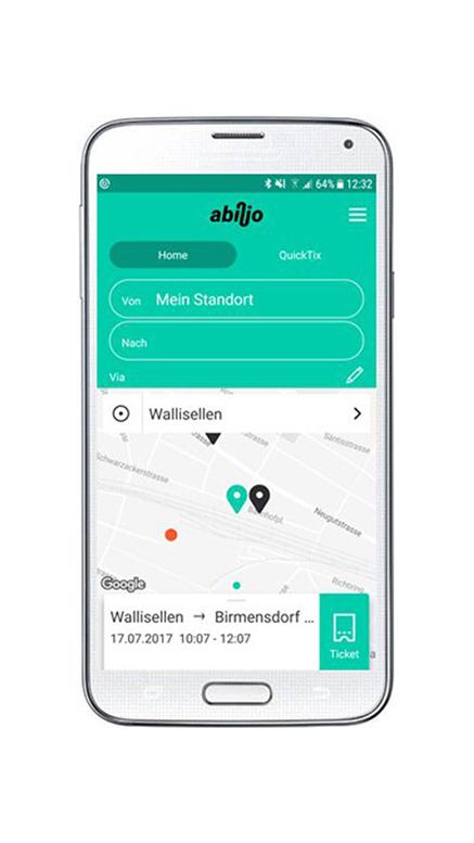 abilio, die App für's Unterwegs