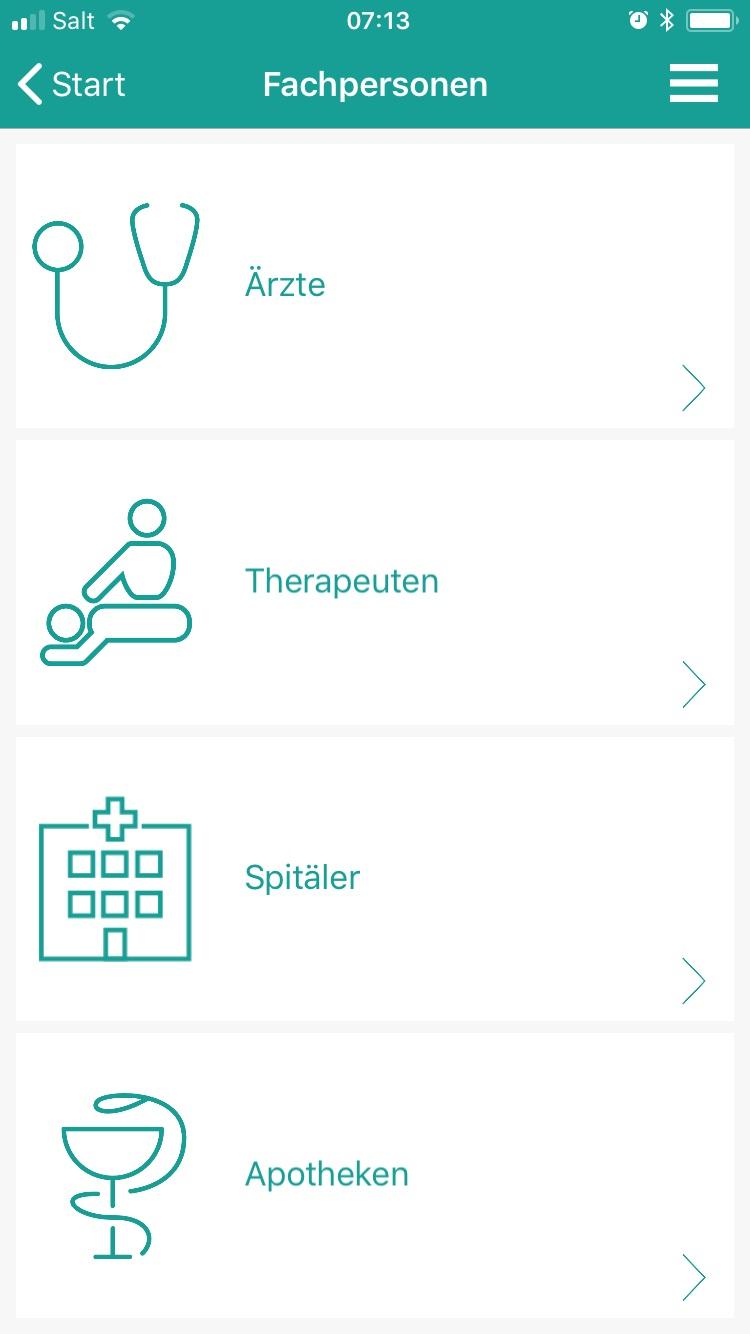 Erste Schweizer SymptomCheck-App