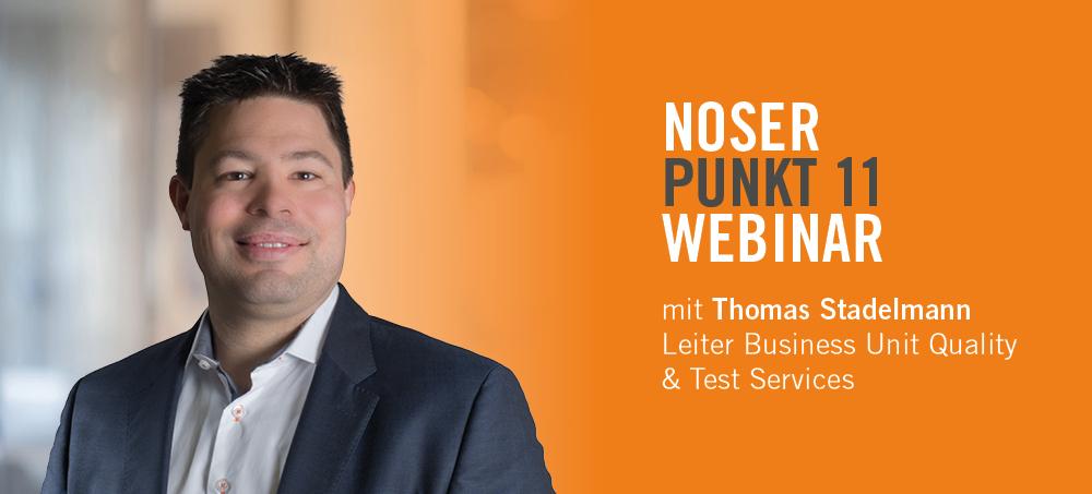 NOSERpunkt11 Webinar – Software-Testautomatisierung