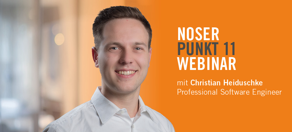 NOSERpunkt11 Webinar – Predictive Maintenance
